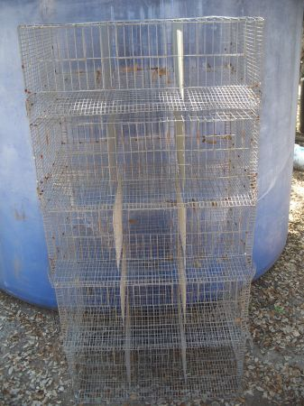 Quail Game Bird Small Fowl Breeder Cages - $250 (Hill Country)