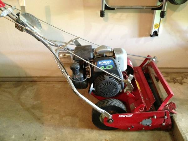Tru-Cut Reel Mower with Honda GC135 4.0 - $100 (78232)