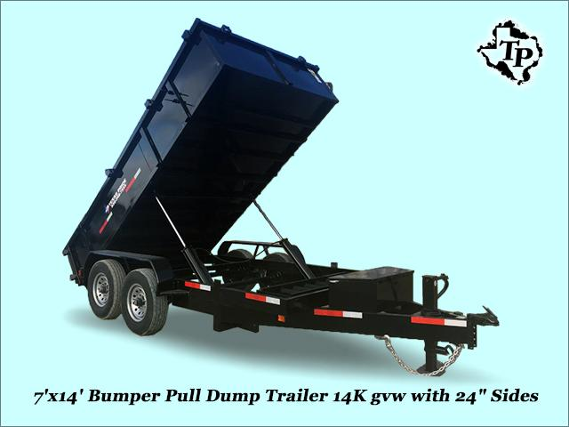 $5,195, Year End Close Out Sale Pull Dump Trailer