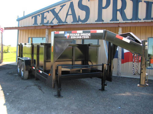 5 795  Priced Below Market  Goose Neck  dump trailer 14gvwr