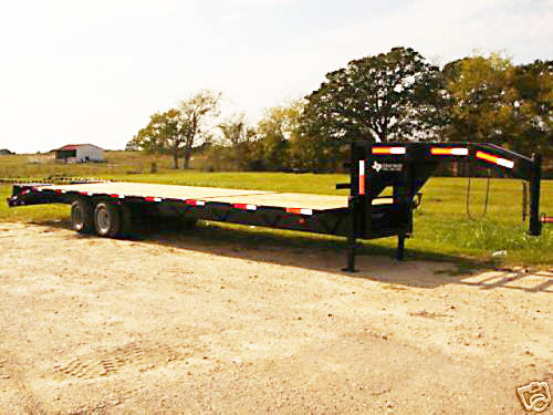 9 795  Texas Tough 8 5 x 35 Flatbed  Equipment Trailer 24 gvwr
