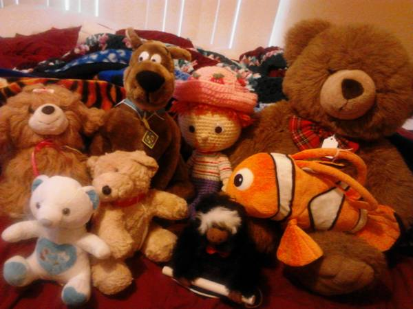 stuff animals all for  10  off blanco rd near basse rd