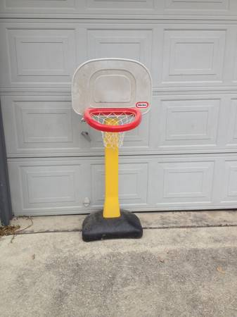 Basketball stand and T-ball stand   151 and Ingram