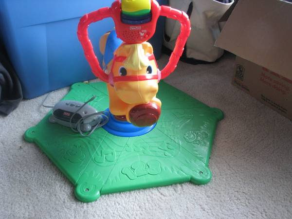 Fisher Price Smart Bounce and Spin Pony -   x0024 20  Stone Oak