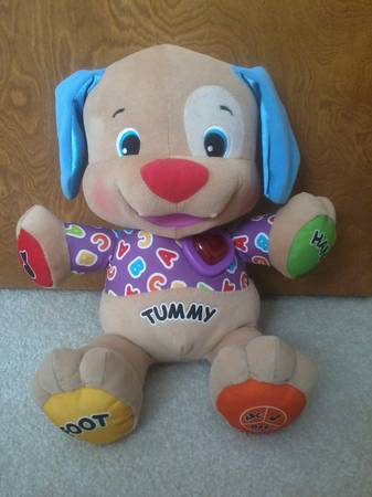 Fisher Price Laugh  amp  Learn Love to Play Puppy -   x0024 10  Bandera