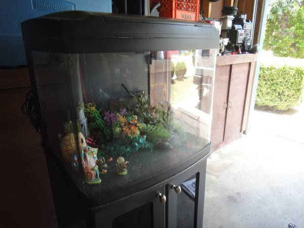 29 gallon Oceanic Nanocube Fish Tank Aquarium w Matching Stand - $220 (NW1604)