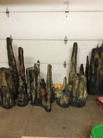 Halloween Cave Stalactites - $60 (281 and 1604)