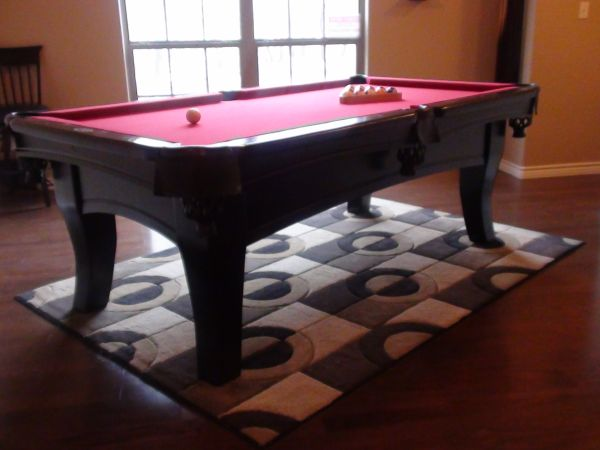 7 FT SPENCER MARSTON POOL TABLE MORE - $1 (FLORESVILLE)