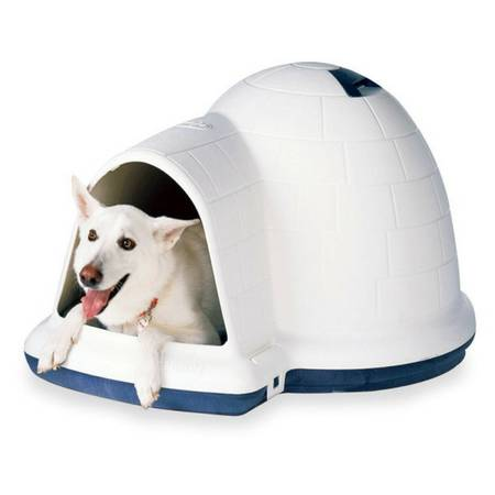 Large Igloo-style Dog House - x0024100 (Sonterra Stoneoak)