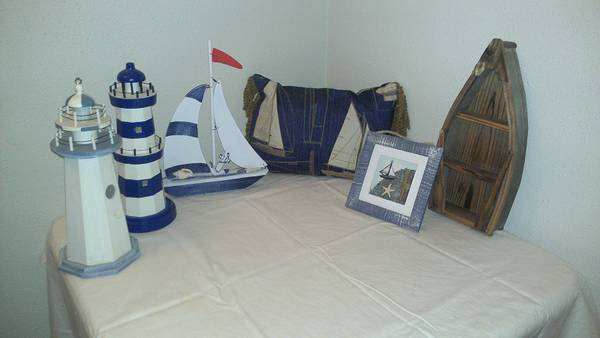 Nautical Decor Items - $25 (N SA)