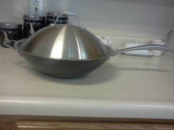 Calphalon Wok Stir Fry Pan - $50 (Or Best Offer)