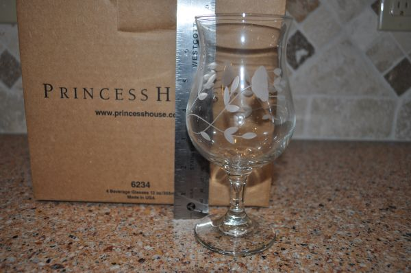 Princess House 6234 - 12oz Beverage Glasses - $60 (BOERNE)