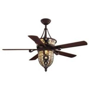 Beautiful Tiffany Style Ceiling Fan Stained Glass - $150 (NW )