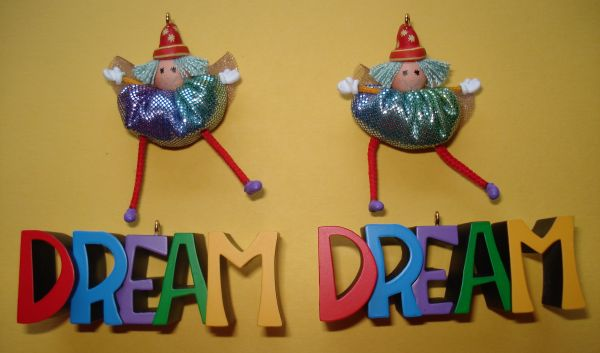2 Hallmark 2002 Dream Ornaments-New - $10 (woods of shavano)