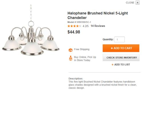 Contractor Grade Light Fixtures (set of 3 or sold separately) - $140 (Alamo Ranch)