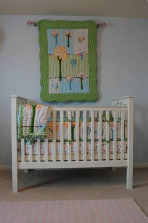 Pottery Barn Kids Brooke Bedding Set - $175 (New Braunfels)