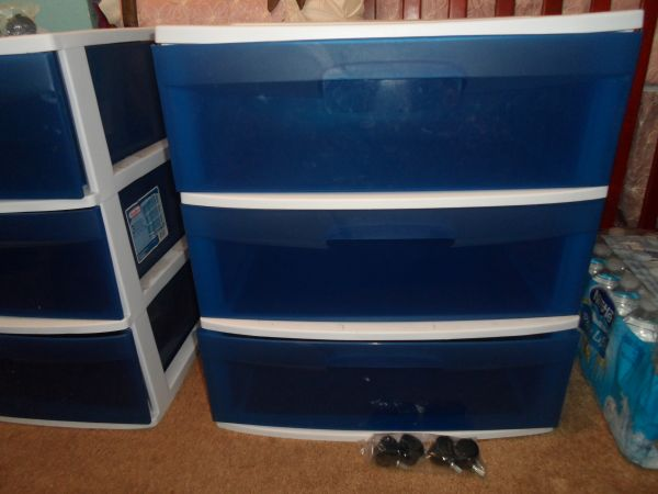Sterilite 3-Drawer Wide Cart (obo) - $20 (Southside)