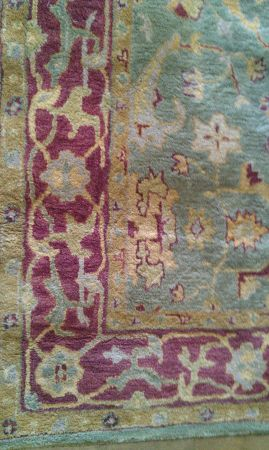 Pottery Barn Hand Tufted Wool Rug 8x10 - $150 (Helotes)