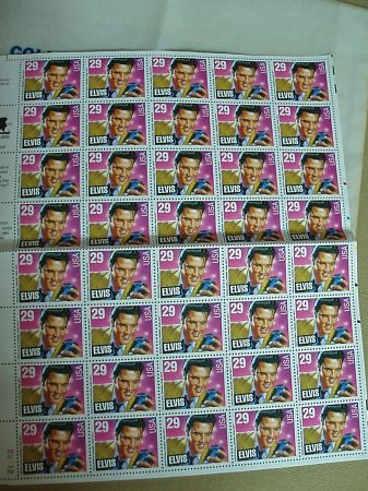 ELVIS US POSTAGE STAMPS - $20 (Castle Hills)