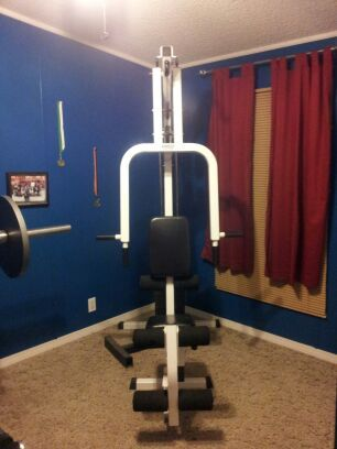 Work Out Bench - Great Condition - $120 (Poteet Tx)