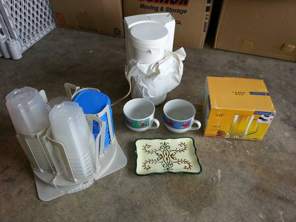 Cheap Small Household Lot (Coffee Maker, Container Set etc.)  (NE-1604Judson)