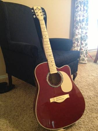 Electric acoustic guitar--Esteban - $140 (BabcockPrue)
