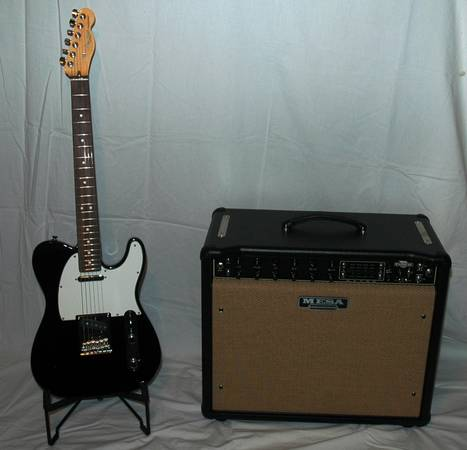 Fender Am. Std. Telecaster with Mesa Boogie 550 Express Plus AMP - $2450 (Medina Lake)
