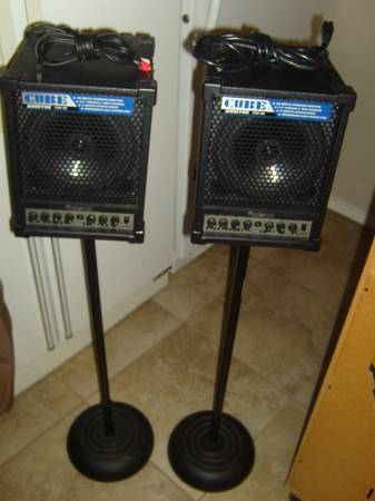 ROLAND CUBE-CM-30 POWERED MONITORS-(Two-Way Speakers)-3-CH-EQ - $125 (BULVERDE TX)