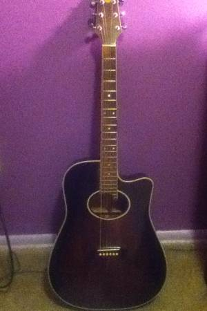 Bently Electric Acoustic Guitar - $50 (Northwest San Antonio)