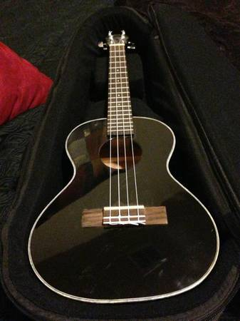 Lanikai electric ukulele from Hawaii - $200 (UTSAStone Oak)