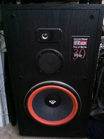 Cerwin vega re 30 series speakers - $250 (Bulverde rd)