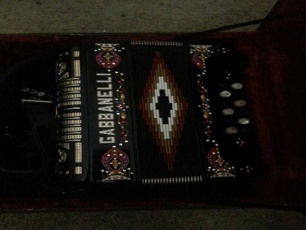 Gabbanelli Accordion - $2500