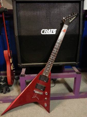 Jackson Flying V -- Randy Roads -- With Hard Case - $250 (Converse)