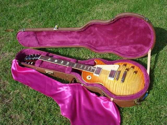1992 Gibson Les Paul Flametop 59 1959 ReIssue NRG Aerosmith Guitar  2000