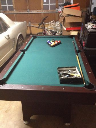 Pool Table trade for drum set - $200 (NW)