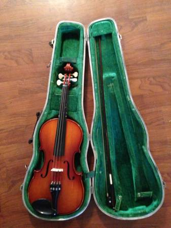 Violin-K Becker string instrument by shim - $110 (Downtown San Antonio)