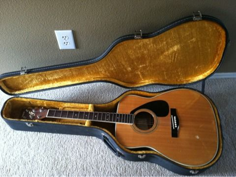 Yamaha FG-420A, hard case included  OBOor best offer - $130 (Military  1604)