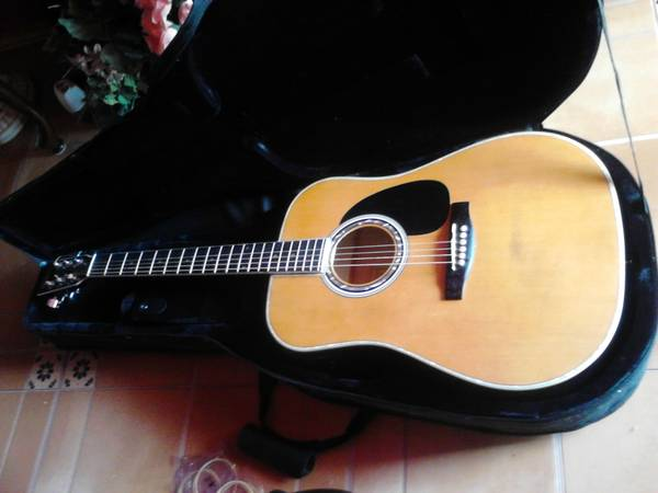 Elezan Acoustic Electric Guitar - $150 (SW San Antonio)