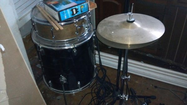 4 peice groove percussion drum set - $40 (downtown)