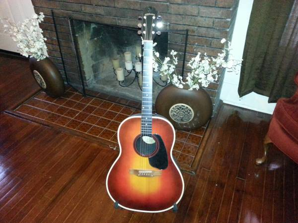 Late 70s Applause Roundback Acoustic - $180 (Dowtown SA)