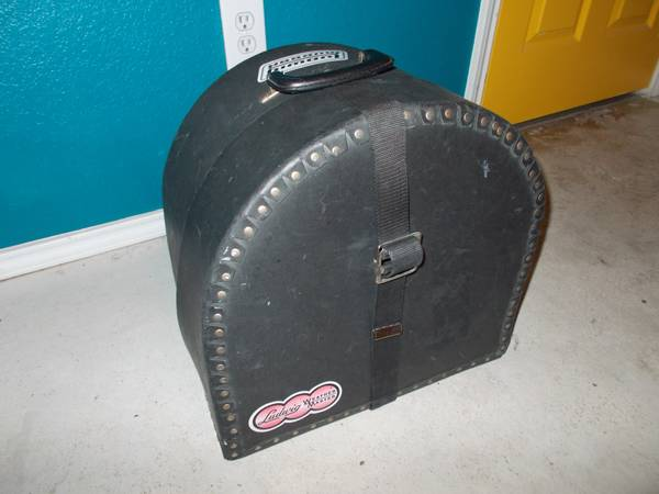 HARDSHELL TOMSNARE DRUM CASE FOR SALE - $35 (NEAR DOWNTOWN SAN ANTONIO)