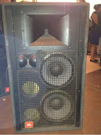 JBL SR Series Speakers - $700 (San Antonio)