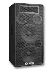 Pair of Carvin 1588 speakers Great Condition - $500 (Med ctr)