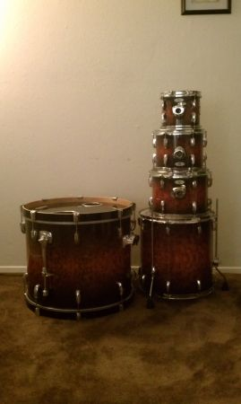 Free PDP Drum Throne and Snare Stand 5 Piece Pearl Fusion Drum-Set - $10 (5063 Loop 410 N.W. Next to Cinemark Dollar Movies)