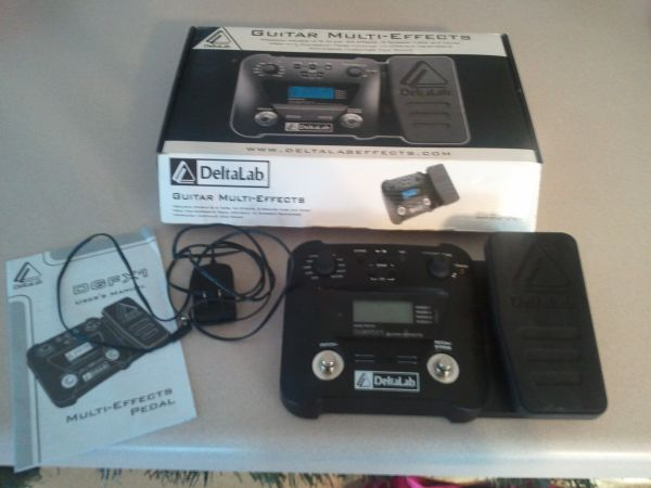 DeltaLab DGFX1 Guitar Multi Effects Pedal with adapter - $50 (NE )