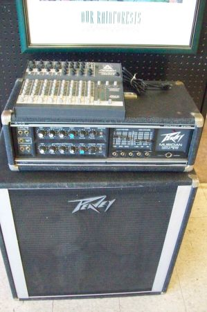 Peavy AMP,Mixing Board and 212 Speakers - $300 (Bandera Tx)