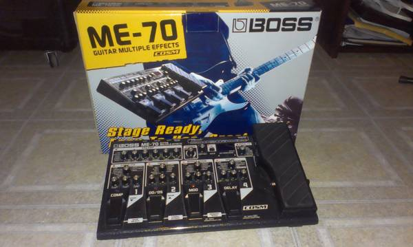 boss multi effects pedal - $275 (901604)