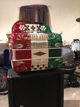 Gabbanelli F accordion - $3000 (San Antonio)