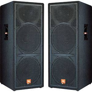 JBL MPRO PA Speakers MP225 - $1000 (San Antonio)