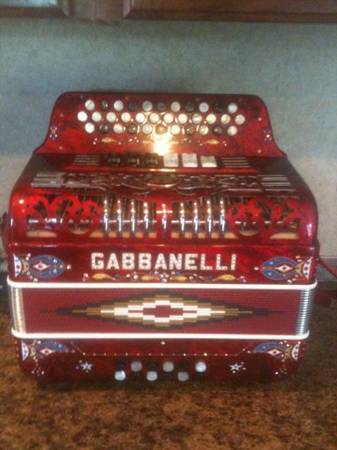 Accordion TWO TONE GCFFBE - $2800 (Accordion Gabbanelliaccordions )